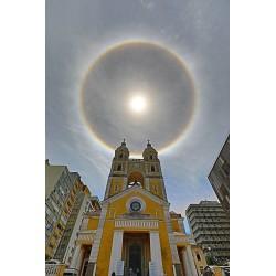 Catedral Metropolitana de Florianópolis com Halo Solar