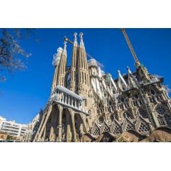 Igreja Sagrada Família/Barcelona/Espanha