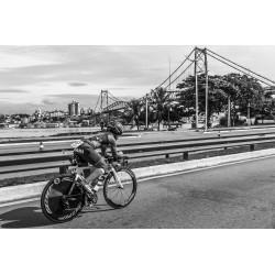 Triathlon e a Ponte Hercílio Luz, Florianópolis/SC/Brasil