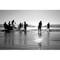 Pescadores - Praia da Barra da Lagoa - Florianópolis/SC - Brasil