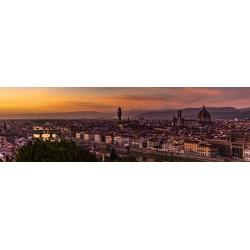 Florença -  Panorâmica 30 x 100cm