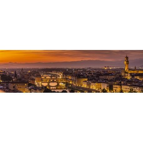Rio Arno - Florença -  Panorâmica 30 x 100cm