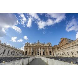 Praça e Basílica de São Pedro - Vaticano
